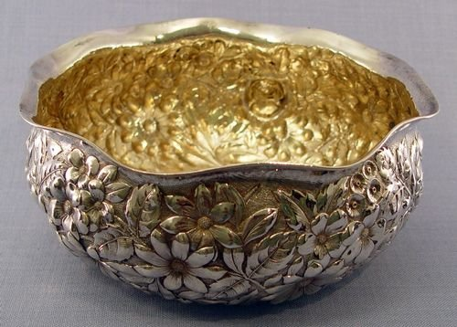 2: GORHAM STERLING REPOUSSE BOWL CA. 1888
