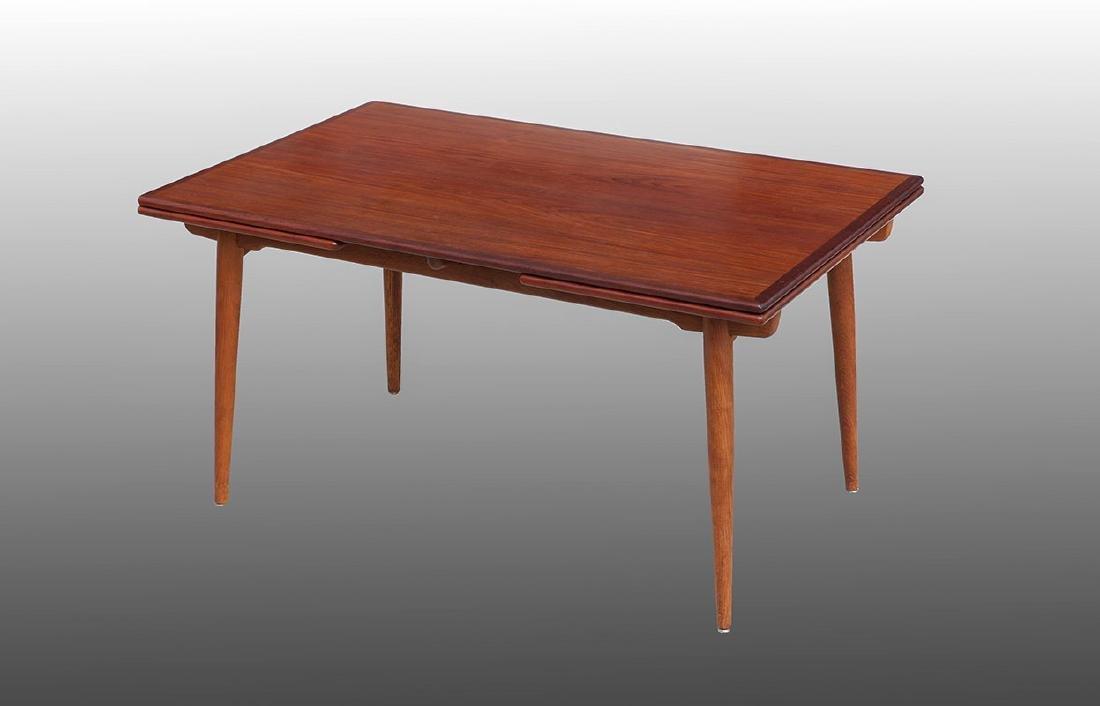 HANS WEGNER AT312 TEAK TABLE FOR ANDREAS TUCK - 2