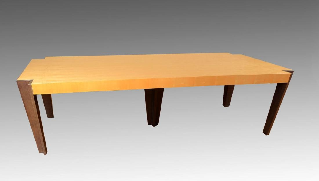 PACE COLLECTION 9' LONG MEDINA DINING TABLE