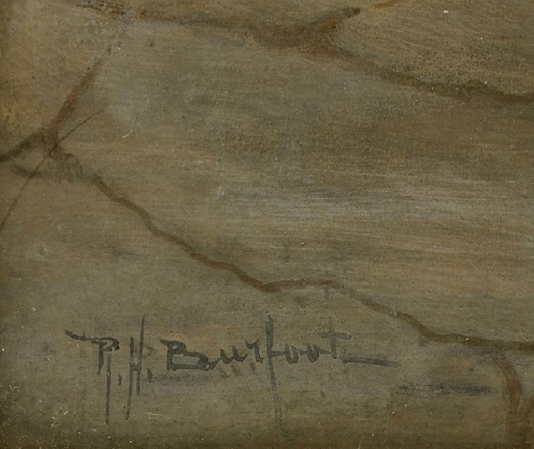 R.H. BURFOOT ORIENTALIST PAINTING - 3