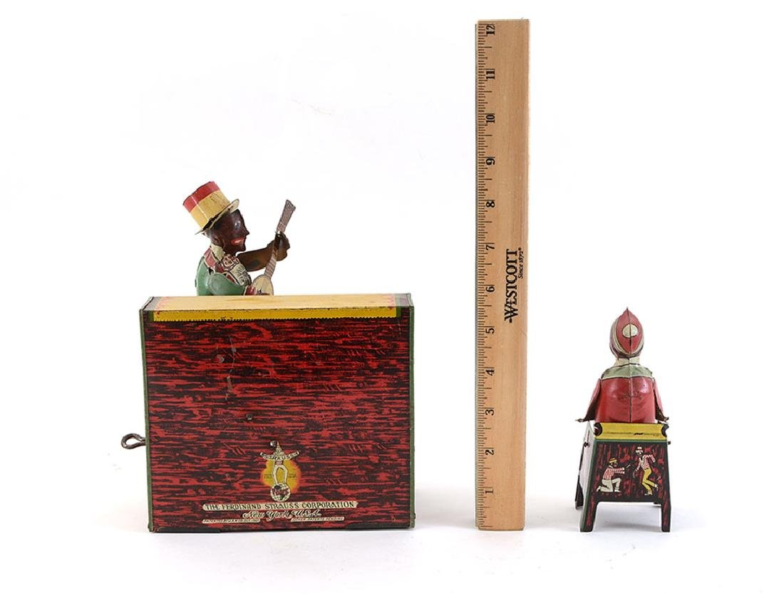 STRAUSS HAM AND SAM TIN LITHO WIND UP TOY - 2
