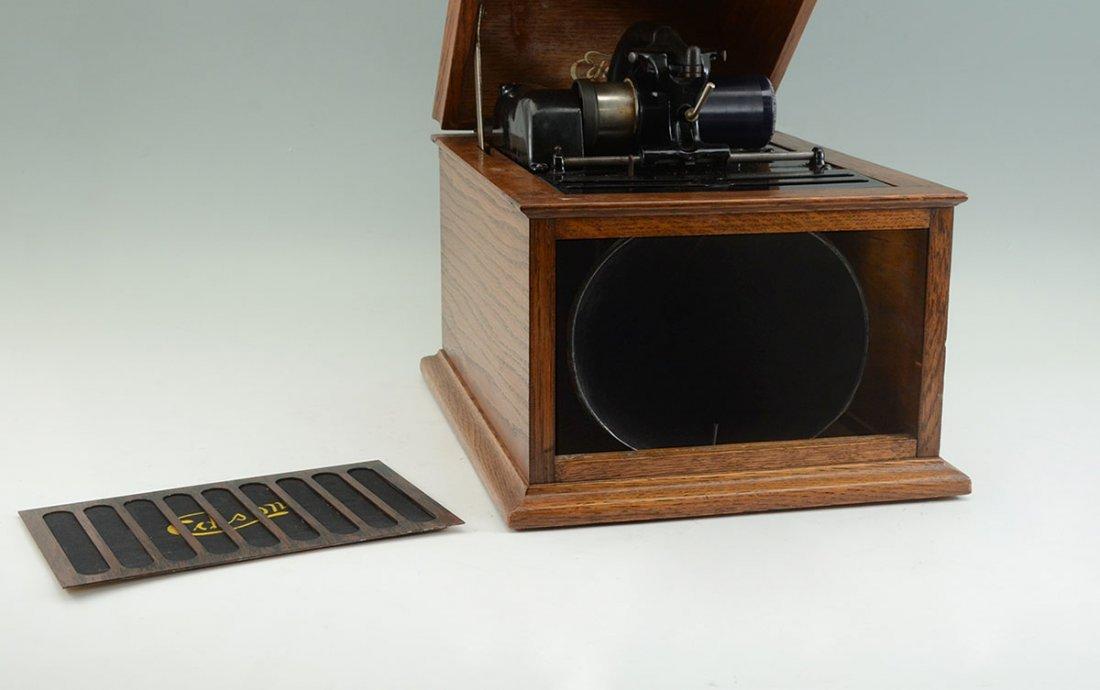 EDISON AMBEROLA 30 CYLINDER PHONOGRAPH PLAYER - 2