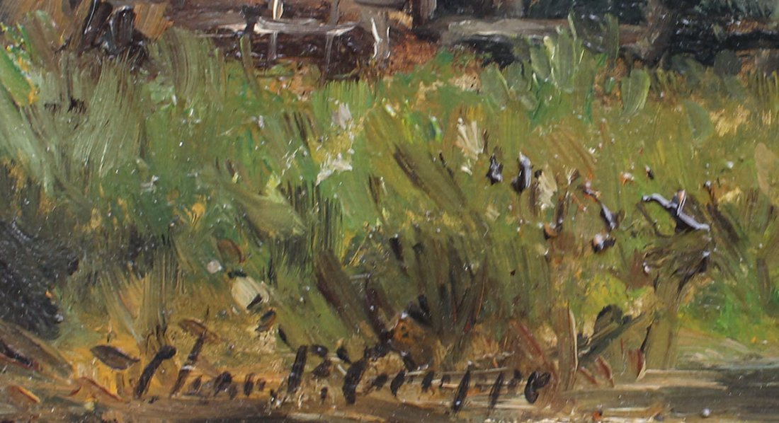 CHARLES GRUPPE RIVER LANDSCAPE PAINTING - 3