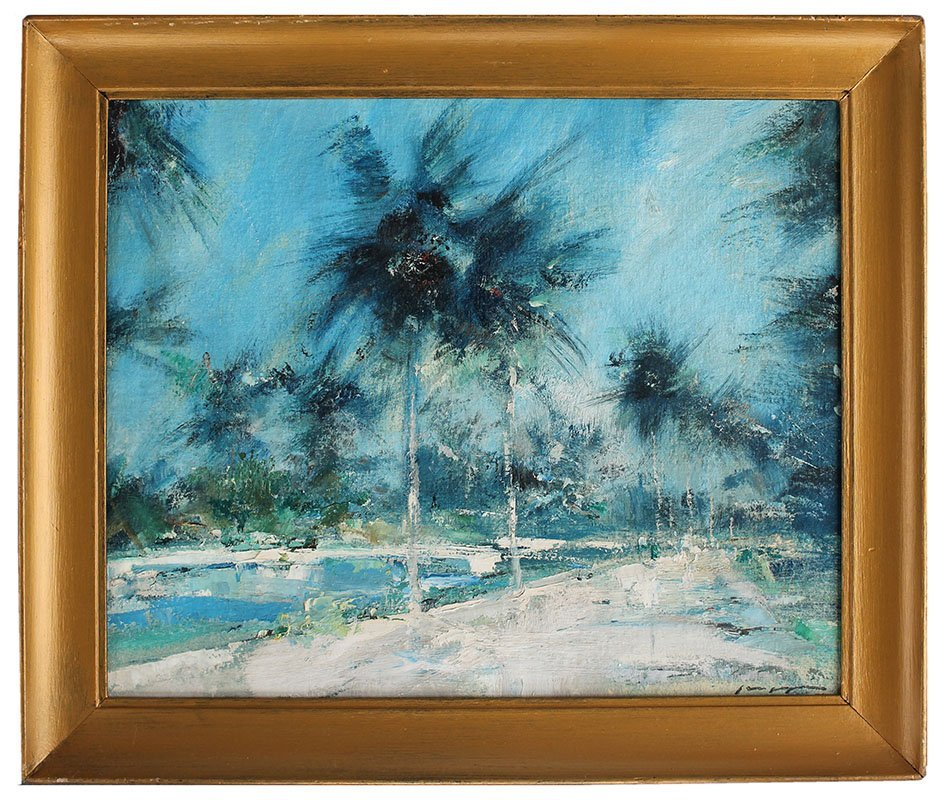 CHARLES GRUPPE TROPICAL PAINTING - 2