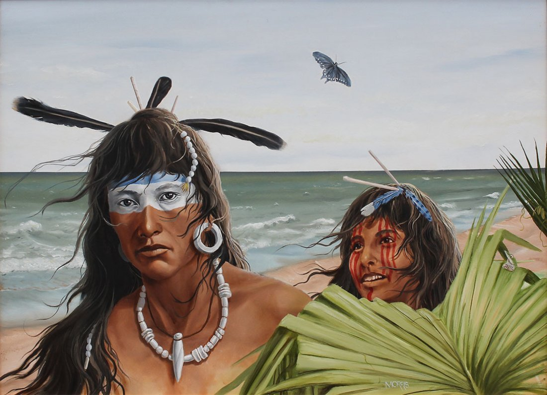THEODORE MORRIS AMERICAN INDIAN PAINTING