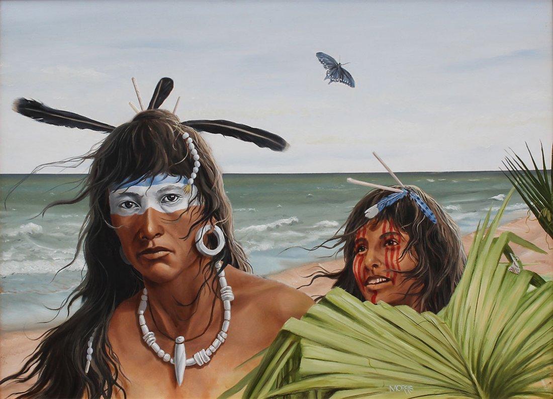 THEODORE MORRIS AMERICAN INDIAN PAINTING