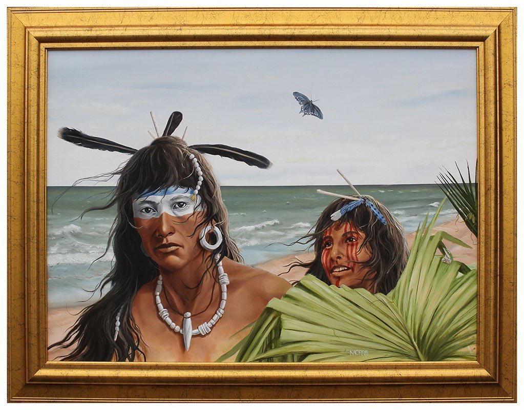 THEODORE MORRIS AMERICAN INDIAN PAINTING - 2