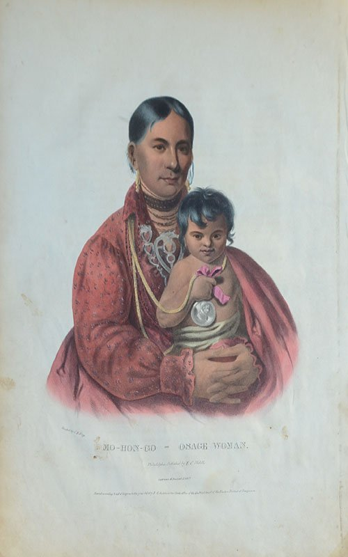 10 AMERICAN INDIAN PRINTS - 2