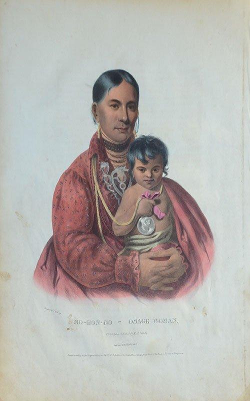 10 AMERICAN INDIAN PRINTS - 2