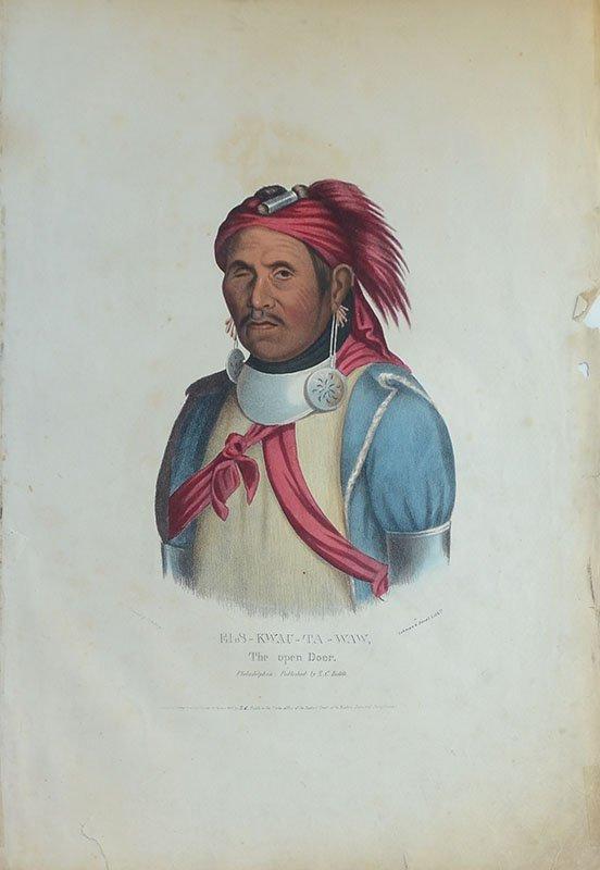 10 AMERICAN INDIAN PRINTS - 5