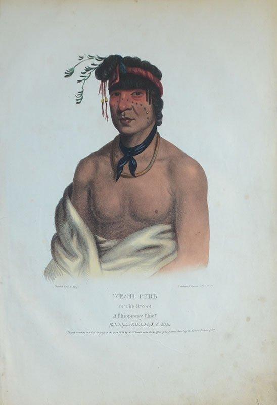 10 AMERICAN INDIAN PRINTS - 6