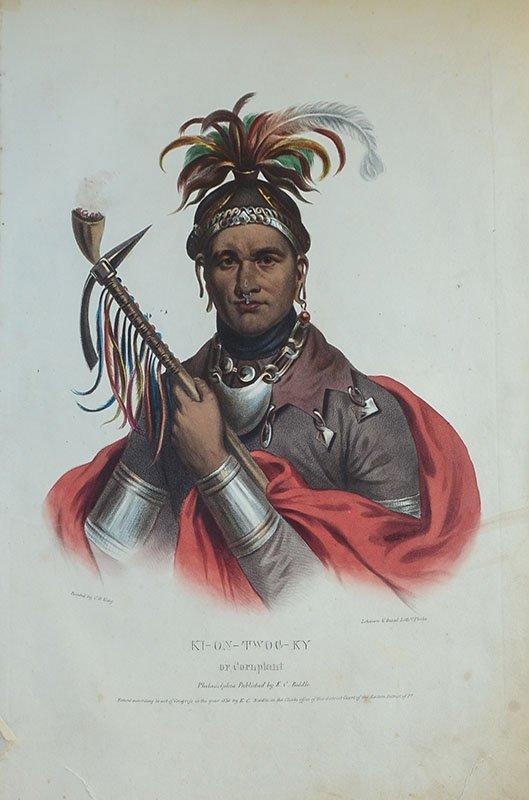 10 AMERICAN INDIAN PRINTS - 9