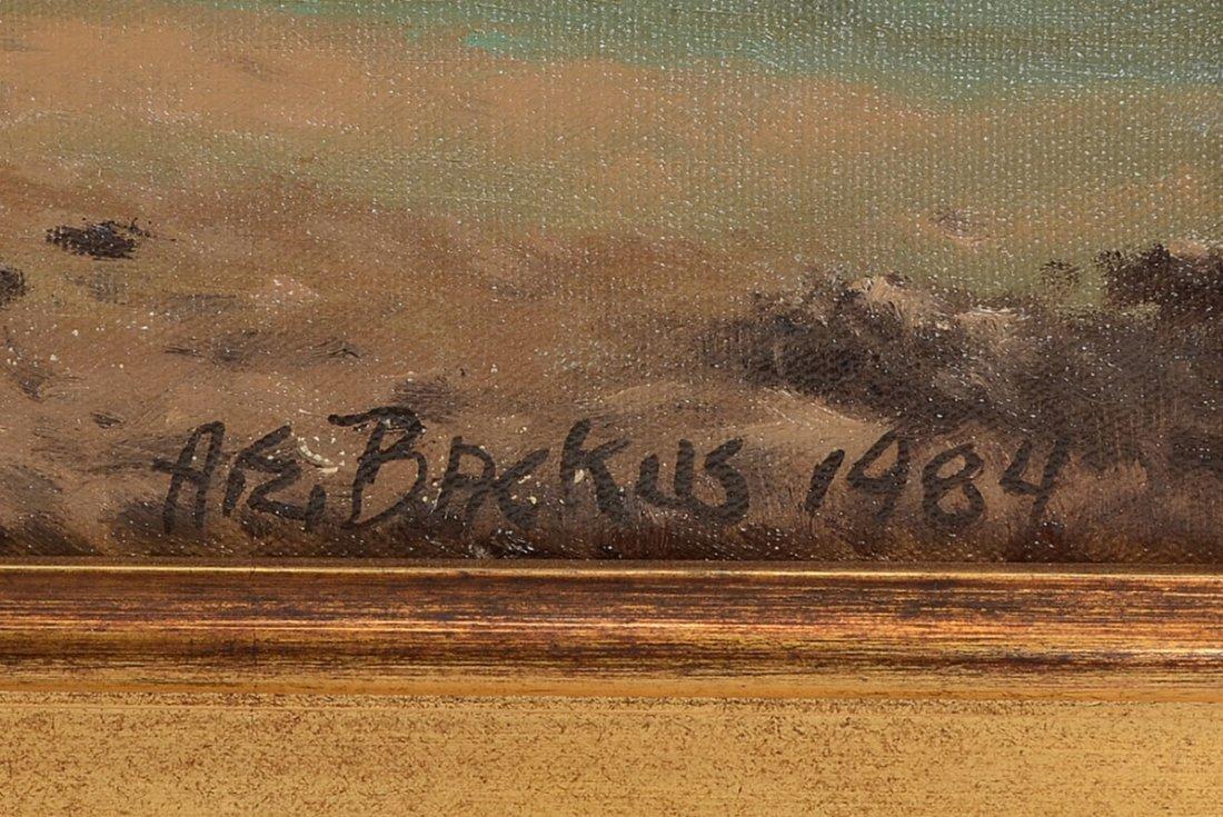 """A.E. """"BEANIE"""" BACKUS BEACH PAINTING - 3"""