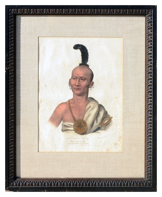 FOUR MCKENNEY & HALL INDIAN PRINTS - 2
