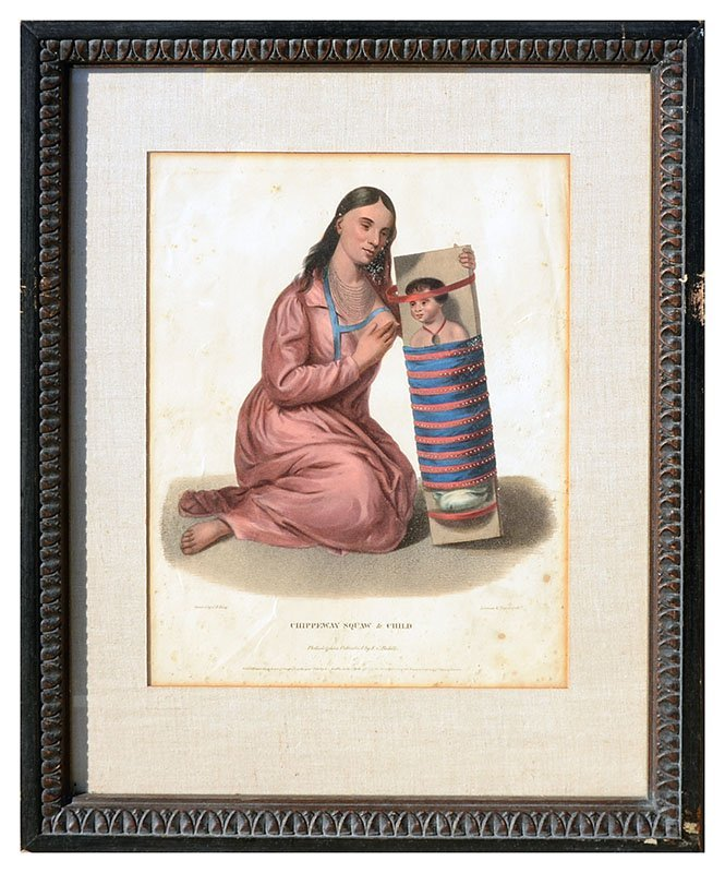 FOUR MCKENNEY & HALL INDIAN PRINTS - 3