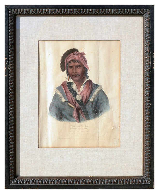 FOUR MCKENNEY & HALL INDIAN PRINTS - 5