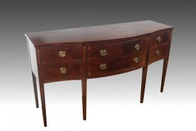 IRVING & CASSON HEPPLEWHITE STYLE INLAID SIDEBOARD