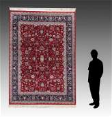PERSIAN HK WOOL RUG IN TABRIZ PATTERN 81X 101