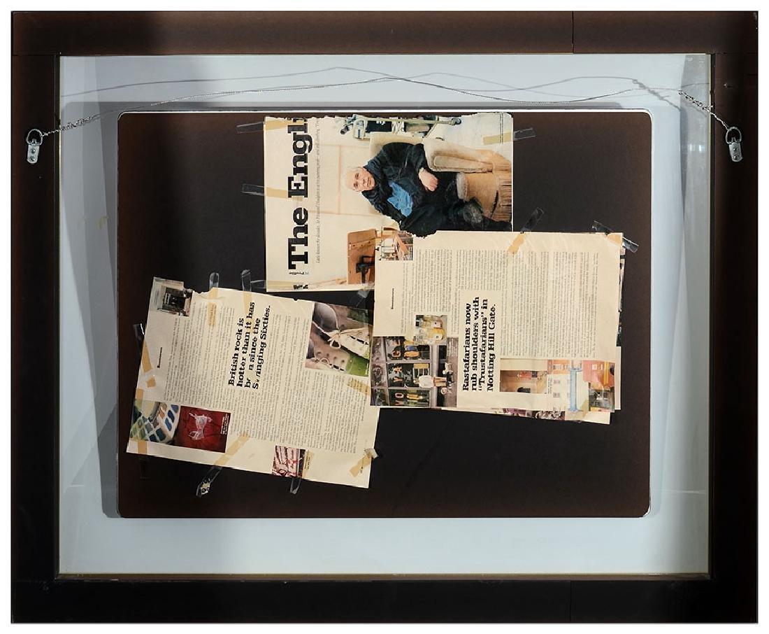 HOWARD HODGKIN ''HERE WE ARE IN CRYDON'' MIXED MEDIA - 4