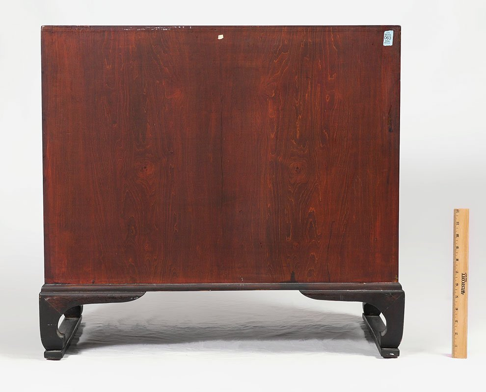ROSEWOOD ORIENTAL CAMPAIGN CHEST - 5