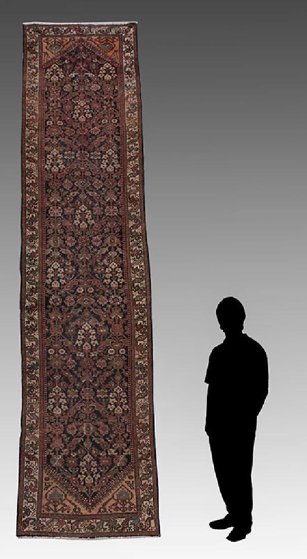 ANTIQUE PERSIAN HK WOOL RUNNER, 3'6'' X 14'1''