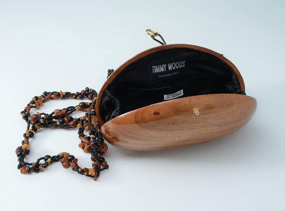 TIMMY WOODS CLAM SHELL PURSE - 2