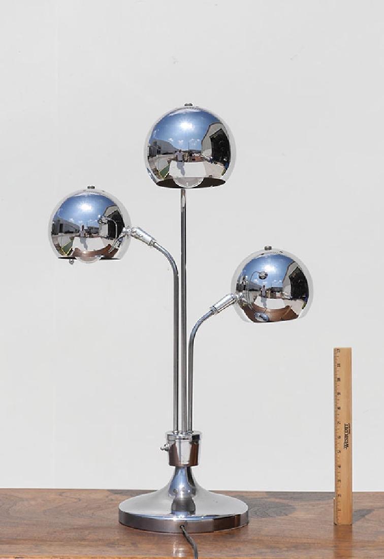 2 CHROME LAMPS ATTRIB. ROBERT SONNEMAN - 3
