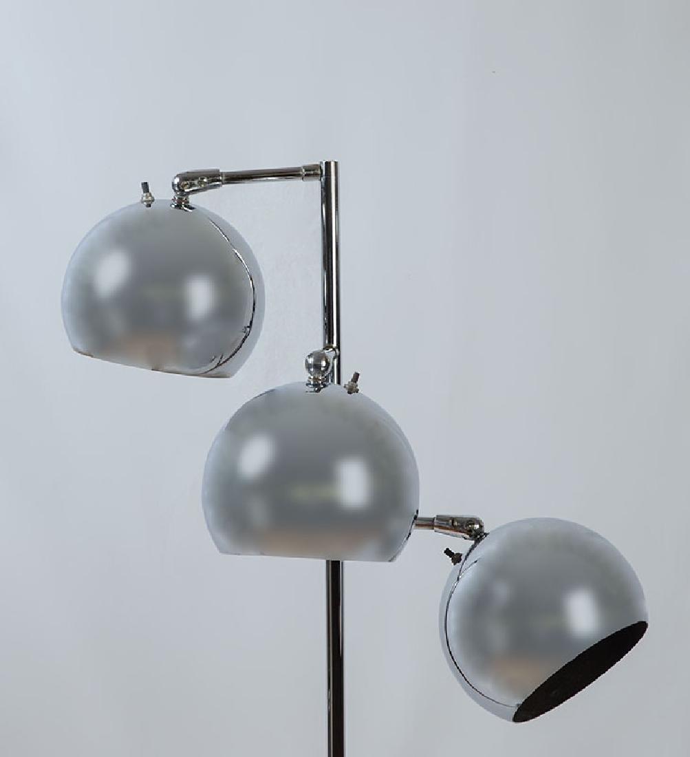 2 CHROME LAMPS ATTRIB. ROBERT SONNEMAN - 5