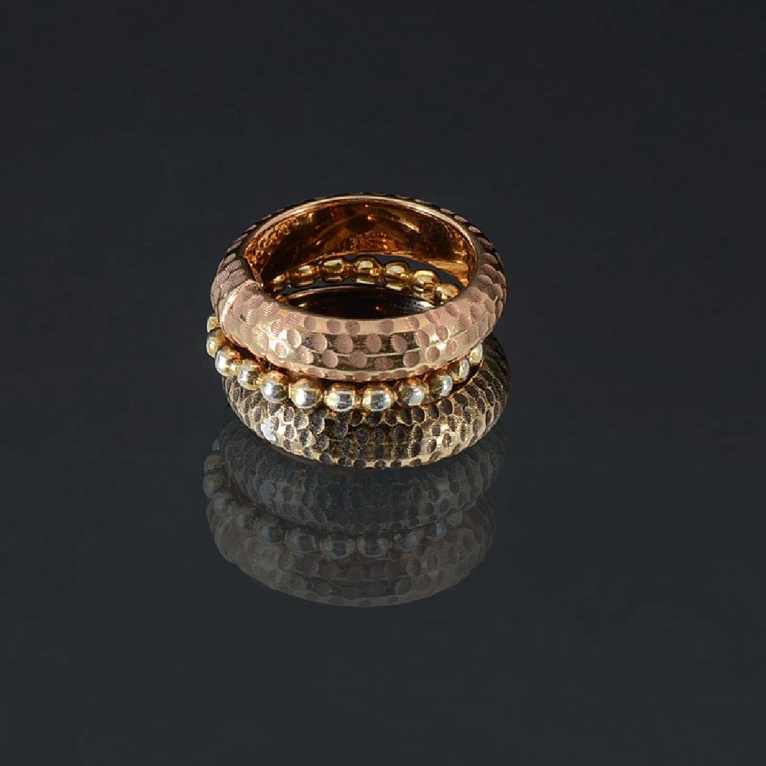 STYLISH 14K STACKING RINGS