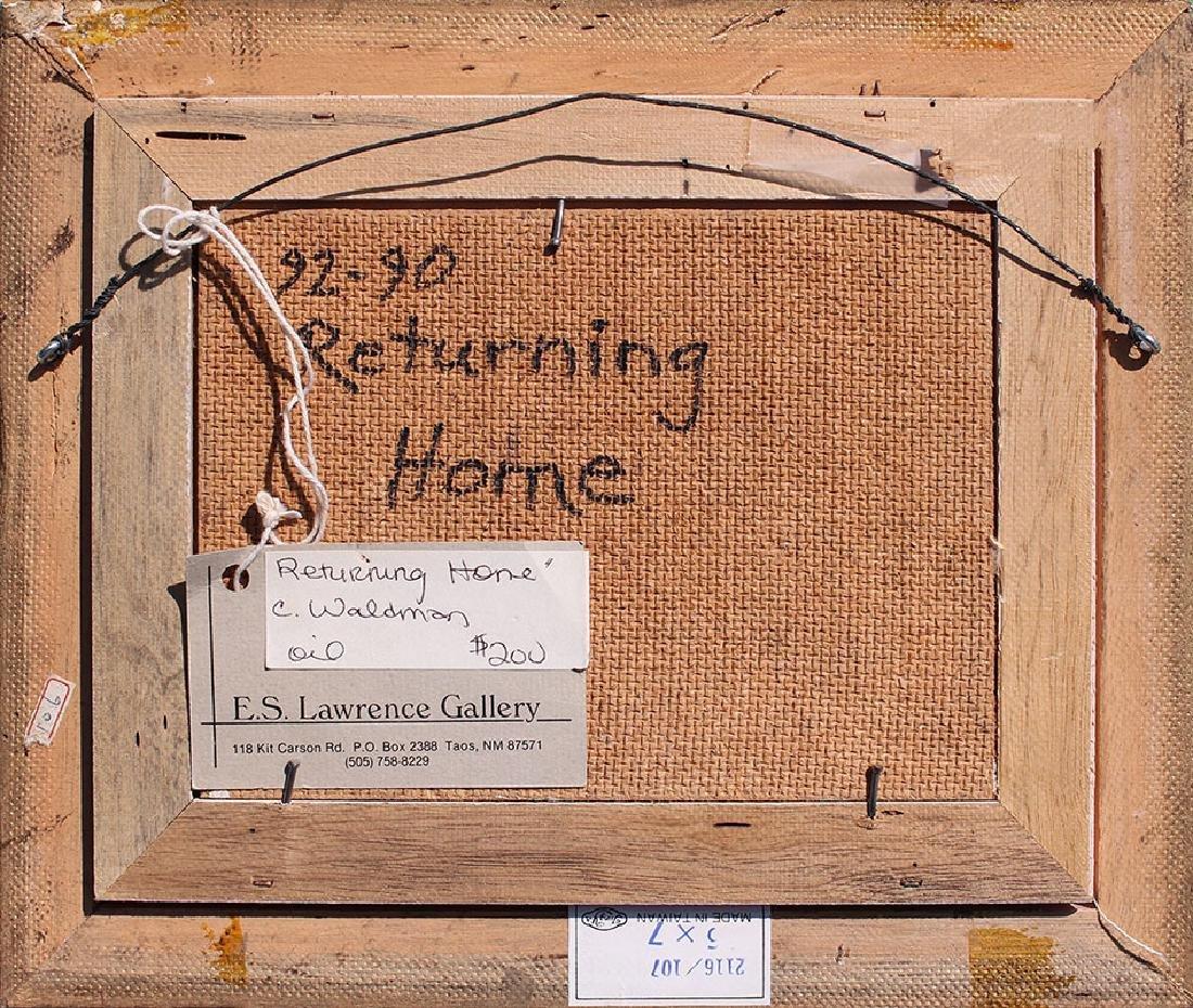 "CHARLES WALDMAN PAINTING ""RETURNING HOME"" - 4"