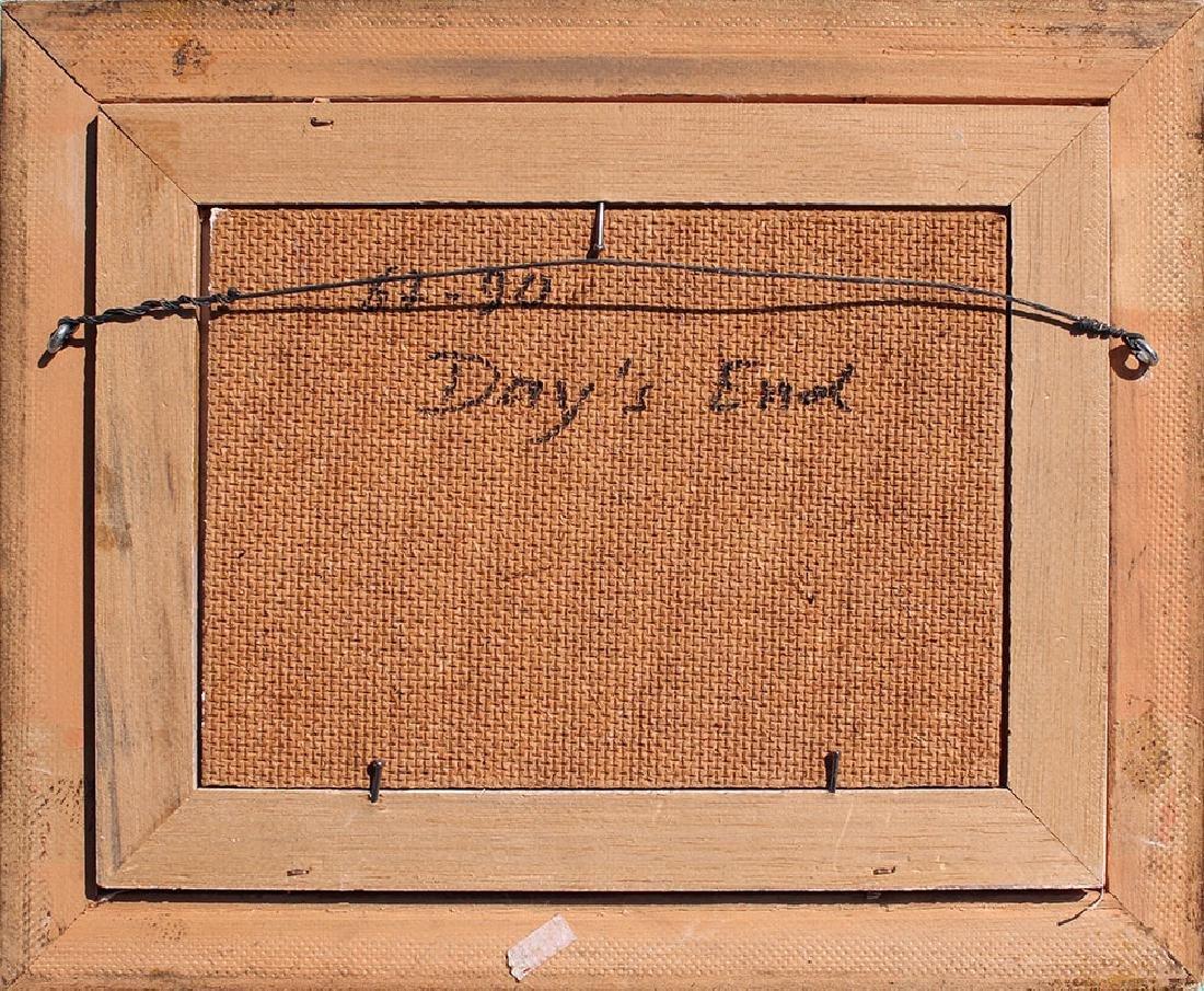 CHARLES WALDMAN PAINTING ''DAYS END'' - 4