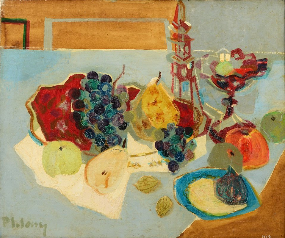 PIERRE LELONG STILL LIFE PAINTING