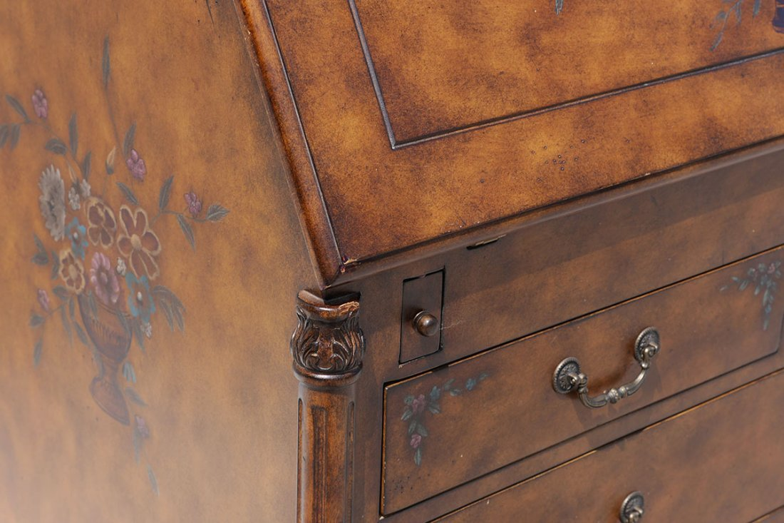 HOOKER FURNITURE DROP FRONT SECRETARY DESK - 6