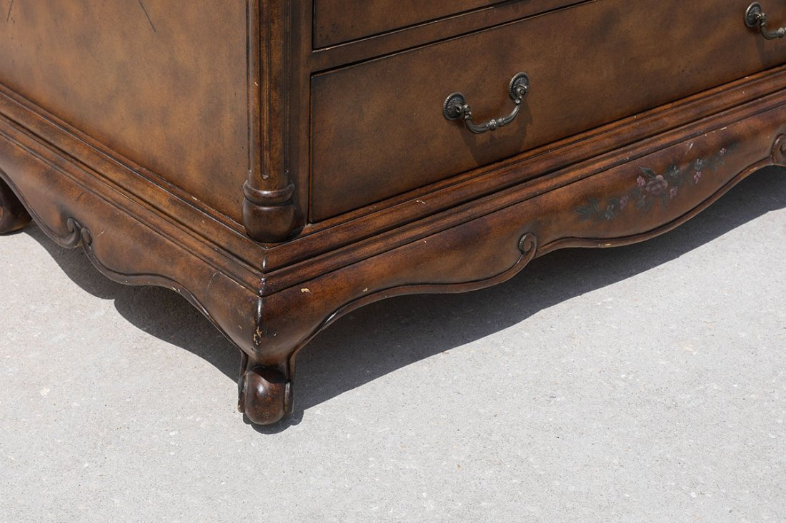 HOOKER FURNITURE DROP FRONT SECRETARY DESK - 7