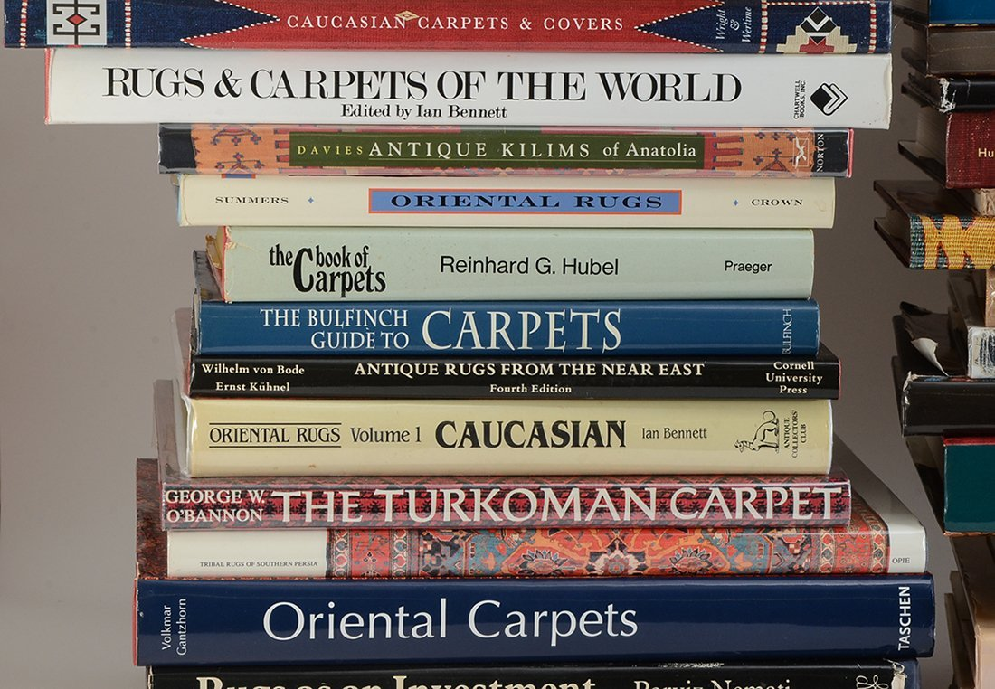 LARGE COLLECTION OF ORIENTAL CARPET REFERENCE BOOKS - 2