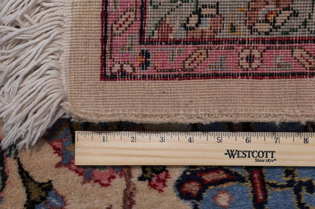 "INDO-PERSIAN HAND KNOTTED WOOL RUG, 12' X 17'5"" - 5"