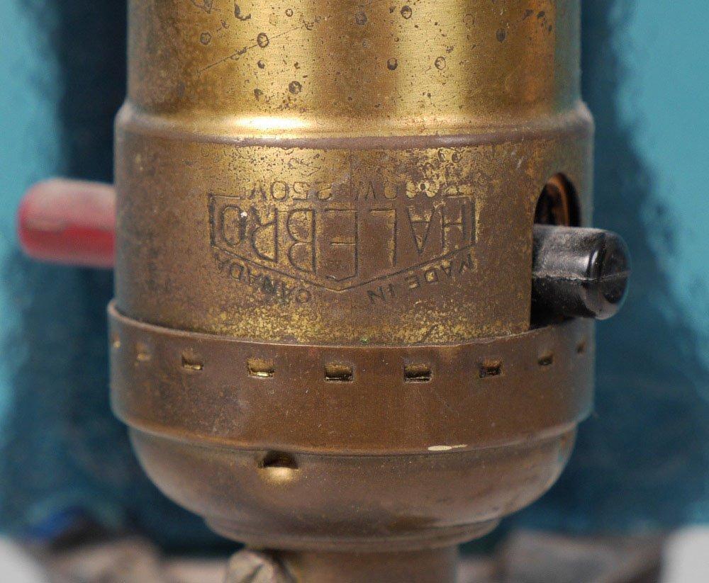 ART DECO FIGURAL MAIDEN TABLE LAMP - 4
