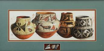 MICHAEL MCCULLOUGH SOUTHWEST POTTERY PAINTING