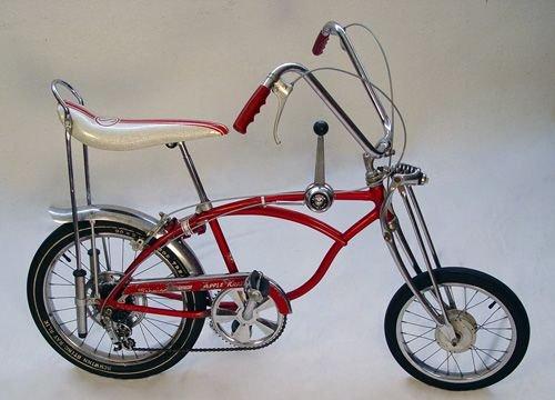 2: VINTAGE 1968 SCHWINN APPLE KRATE 5 SPEED BICYCLE