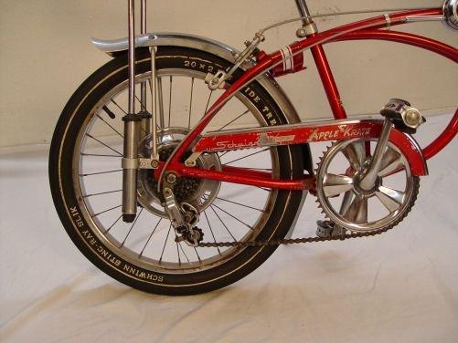 2: VINTAGE 1968 SCHWINN APPLE KRATE 5 SPEED BICYCLE - 2
