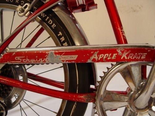 2: VINTAGE 1968 SCHWINN APPLE KRATE 5 SPEED BICYCLE - 7