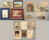 53: MISCELLANEOUS MINIATURE PAINTING COLLECTION