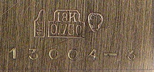 73: GENTLEMAN'S ITALIAN SOFIOR 18K CHROMOGRAPH WATCH - 4