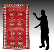 PERSIAN VILLAGE HK WOOL RUNNER 310 X 75