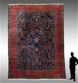 PERSIAN KERMAN HK WOOL RUG, 12' X 16'