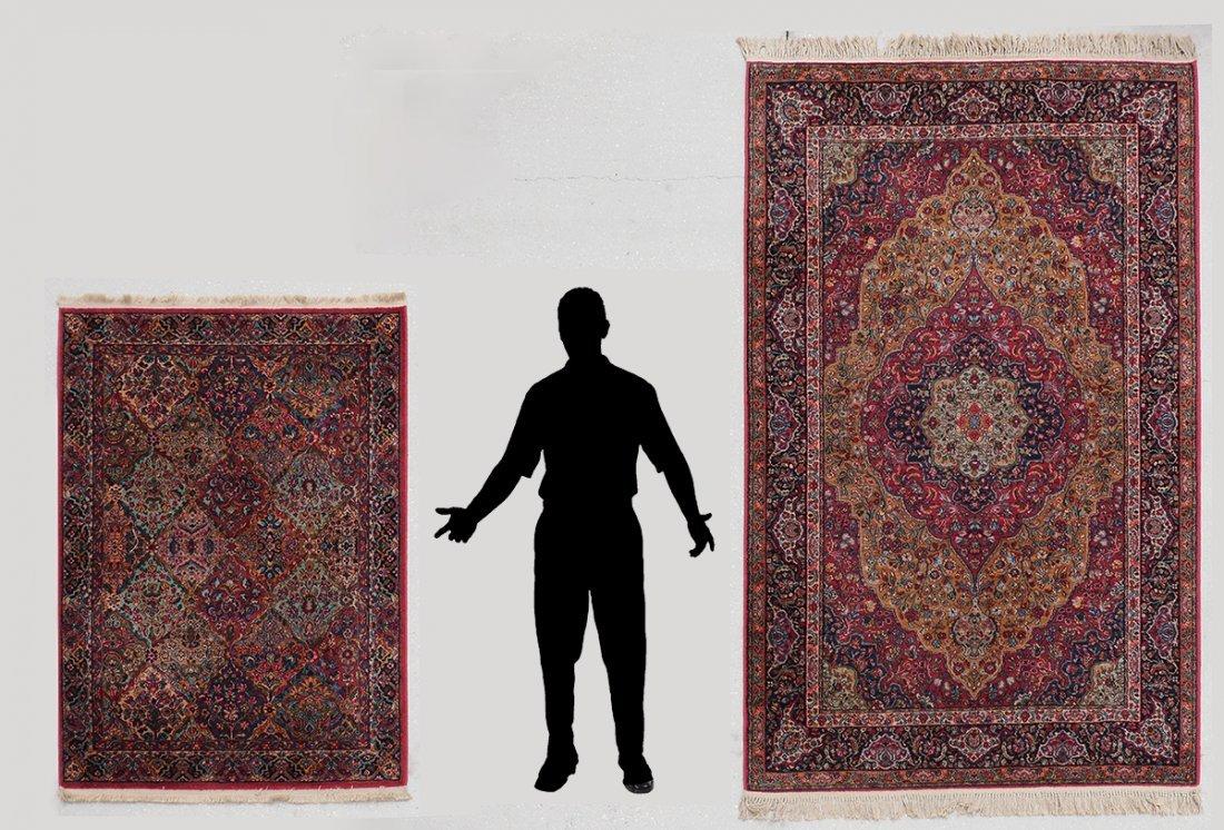 Karastan Kirman Wool Rugs 4 3 X 6 5 9 X 9