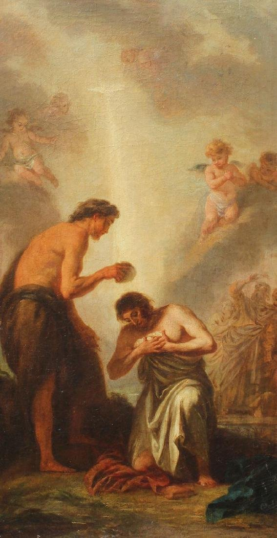 BAPTISM OF CHRIST PAINTING MURILLO?