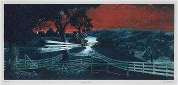 G.H. ROTHE MEZZOTINT ''MARVEL'' RETAIL $10,000