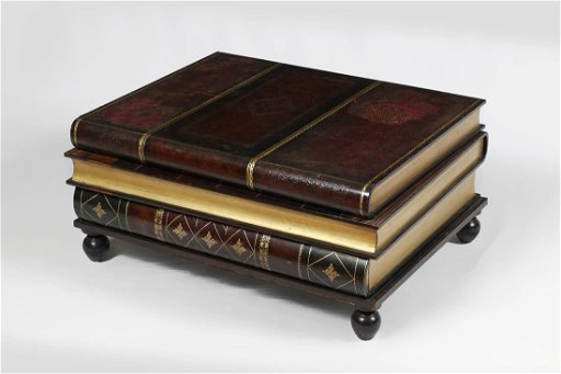 Maitland Smith Stacked Book Coffee Table