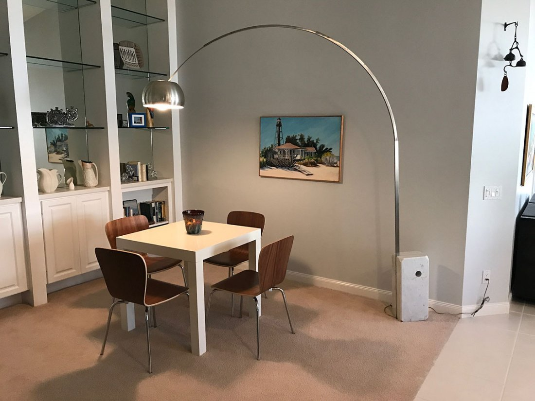 ACHILLE & PIER CASTIGLIONI ARCO FLOOR LAMP